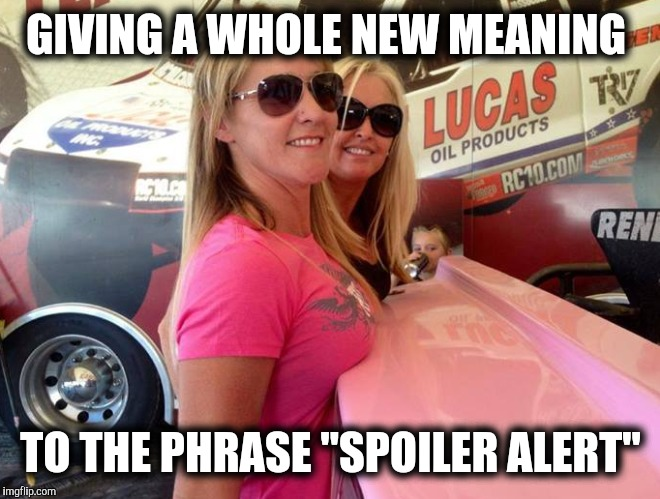 "Spoiler Alert: Cleavage Week | GIVING A WHOLE NEW MEANING TO THE PHRASE ""SPOILER ALERT"" 