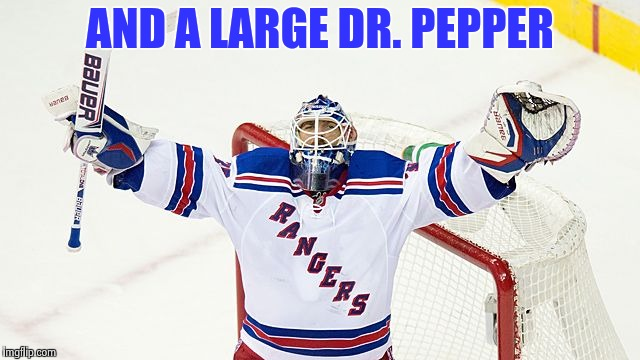 Henrik Lundquist | AND A LARGE DR. PEPPER | image tagged in henrik lundquist | made w/ Imgflip meme maker