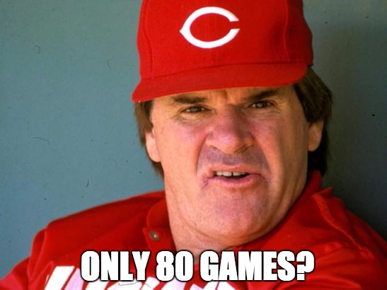 Starling Marte Suspended? | ONLY 80 GAMES? | image tagged in pete rose,dazed and confused,pittsburgh,steroids,mlb,suspension | made w/ Imgflip meme maker