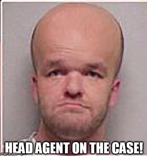HEAD AGENT ON THE CASE! | made w/ Imgflip meme maker