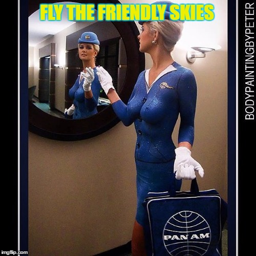 FLY THE FRIENDLY SKIES | made w/ Imgflip meme maker