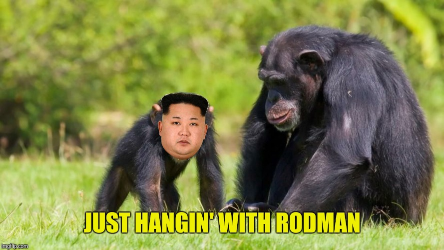 JUST HANGIN' WITH RODMAN | made w/ Imgflip meme maker
