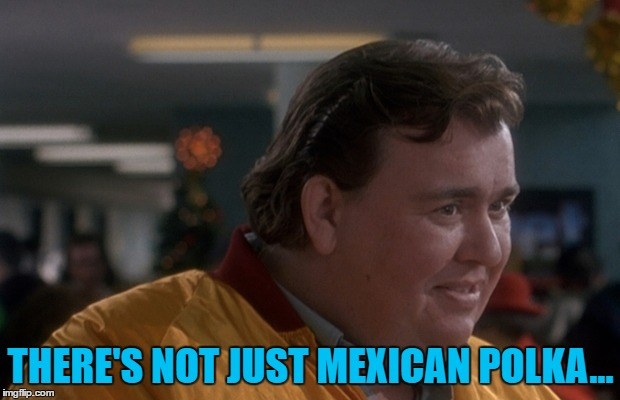 THERE'S NOT JUST MEXICAN POLKA... | made w/ Imgflip meme maker