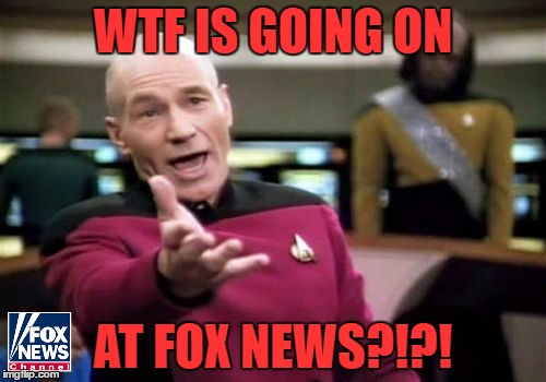 Bill O'Reilly and Roger Ailes Let Go For Sexual Misconduct. Gretchen Carlson and Megyn Kelly Gone After Getting Harassed. WTF... | WTF IS GOING ON AT FOX NEWS?!?! | image tagged in memes,picard wtf,fox news,bill oreilly,megyn kelly,roger ailes | made w/ Imgflip meme maker