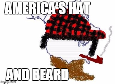 AMERICA'S HAT AND BEARD | made w/ Imgflip meme maker
