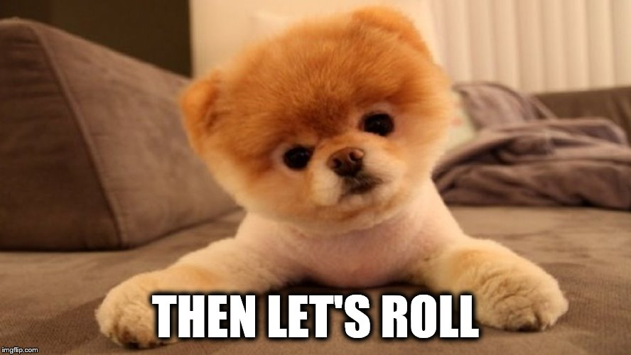 THEN LET'S ROLL | made w/ Imgflip meme maker