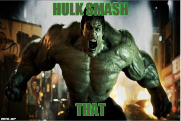 HULK SMASH THAT | made w/ Imgflip meme maker