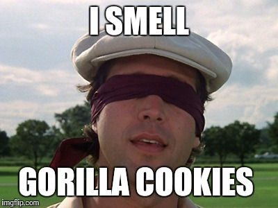 I SMELL GORILLA COOKIES | made w/ Imgflip meme maker