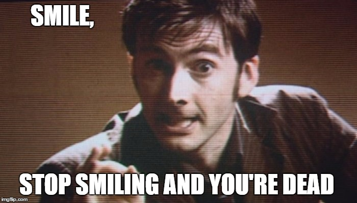 "Doctor Who ""SMILE"" 