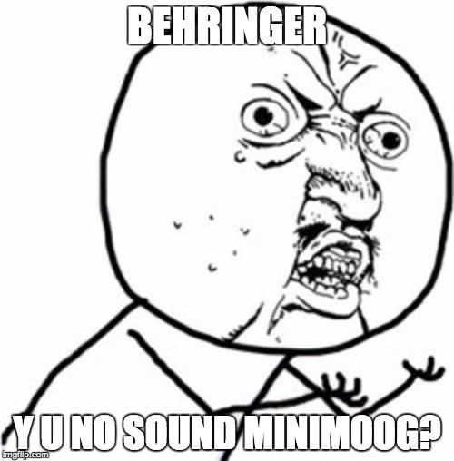 Behringer Mini Model D A Good Idea