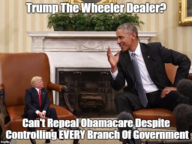"""Trump The Wheeler Dealer?"" 