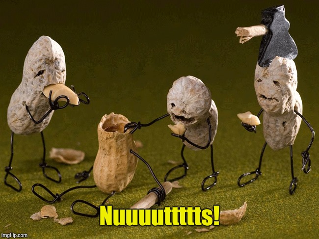 Peanut Zombies! | Nuuuuttttts! | image tagged in zombies,zombie week | made w/ Imgflip meme maker