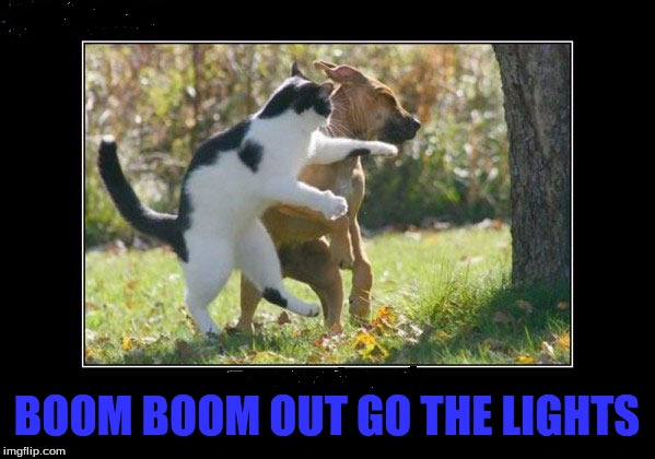 BOOM BOOM OUT GO THE LIGHTS | made w/ Imgflip meme maker