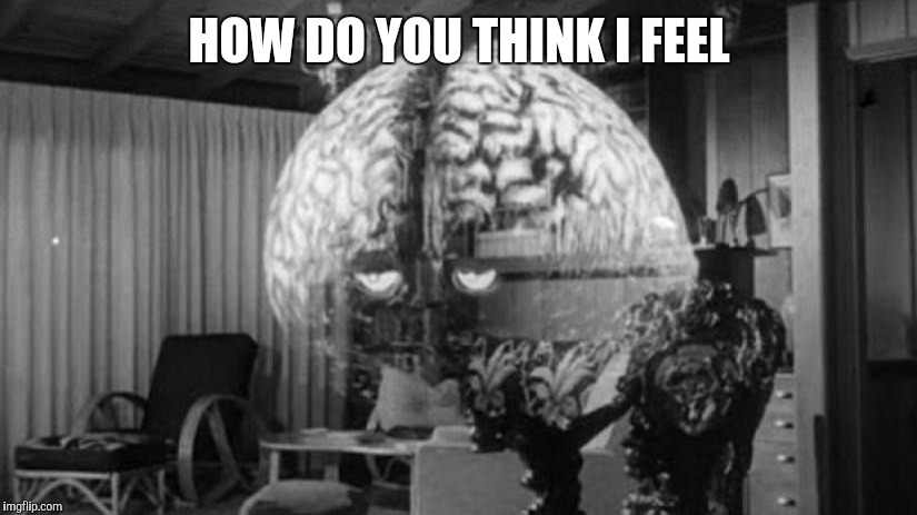 Brainy Brian 2 | HOW DO YOU THINK I FEEL | image tagged in brainy brian 2 | made w/ Imgflip meme maker