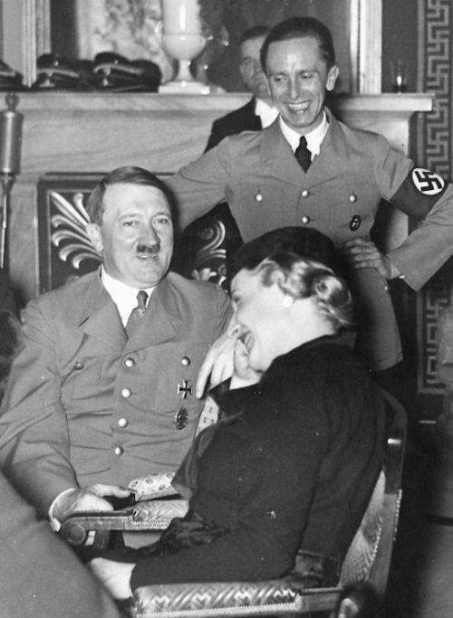 Goebbels, Hitler, & Magda Blank Template - Imgflip