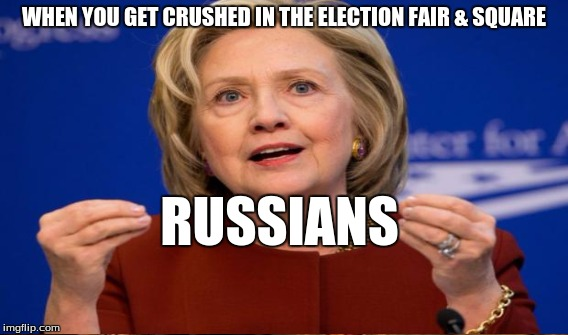 WHEN YOU GET CRUSHED IN THE ELECTION FAIR & SQUARE RUSSIANS | made w/ Imgflip meme maker