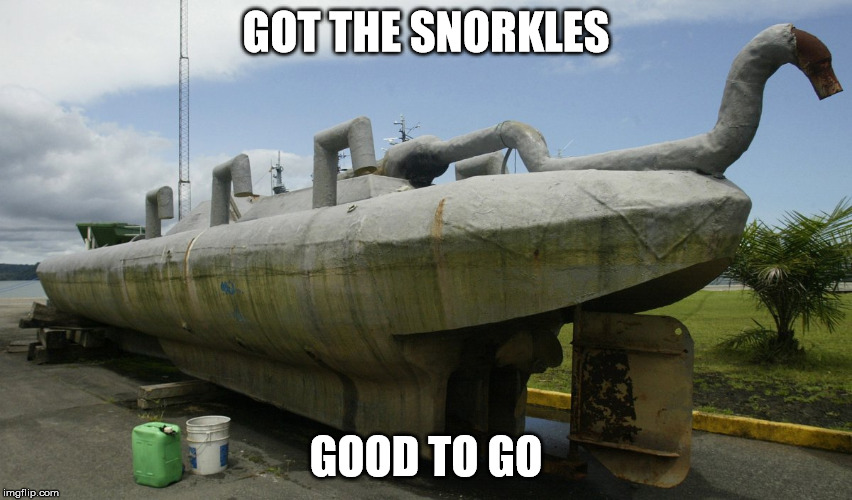 GOT THE SNORKLES GOOD TO GO | made w/ Imgflip meme maker