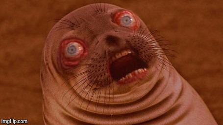 Surprised Seal | . | image tagged in surprised seal | made w/ Imgflip meme maker