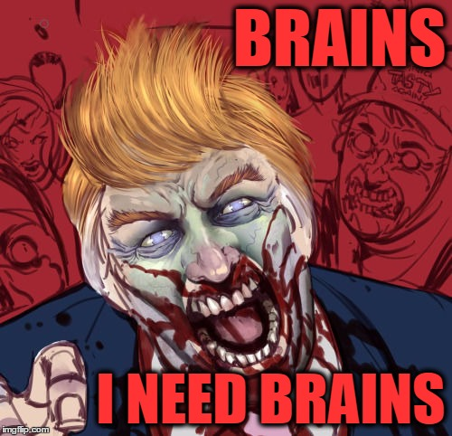 Image result for zombie trump