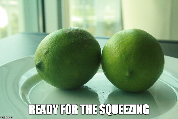 READY FOR THE SQUEEZING | made w/ Imgflip meme maker