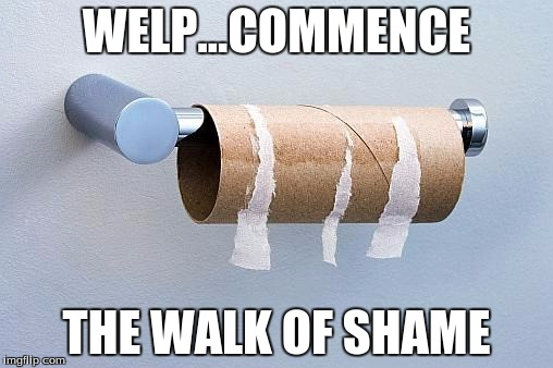 Slikovni rezultat za toilet paper meme