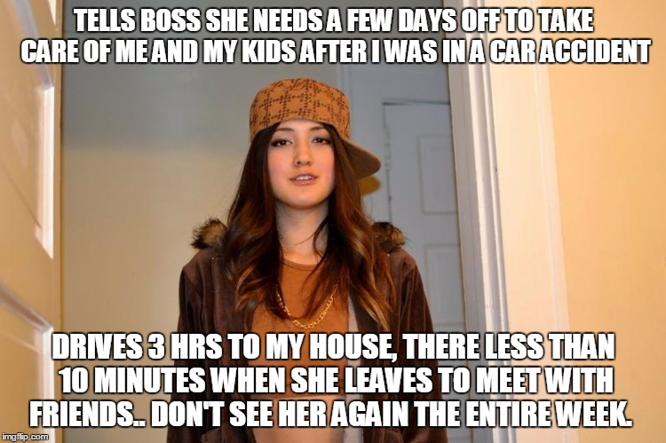 Meet my sister - didn't even ask how i was when she showed up.