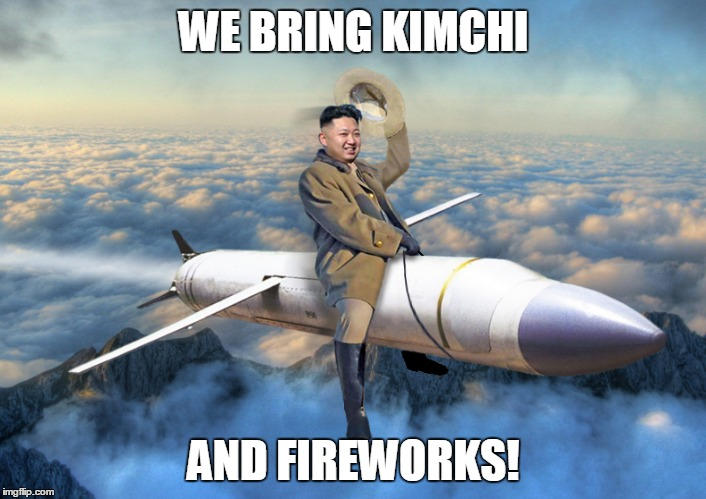 WE BRING KIMCHI AND FIREWORKS! | made w/ Imgflip meme maker