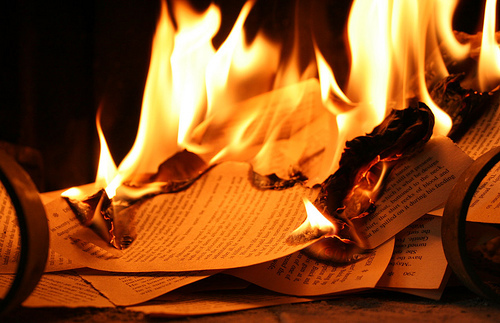 Image result for paper burning