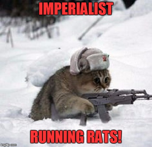 IMPERIALIST RUNNING RATS! | made w/ Imgflip meme maker