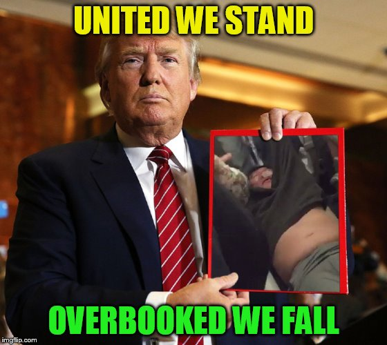 UNITED WE STAND OVERBOOKED WE FALL | made w/ Imgflip meme maker