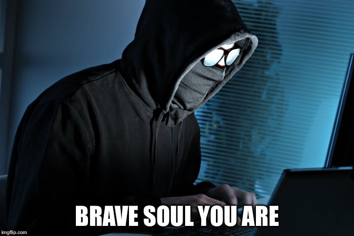BRAVE SOUL YOU ARE | made w/ Imgflip meme maker