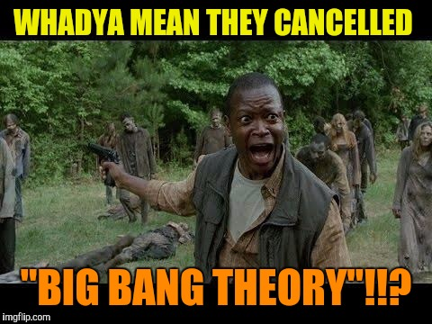 "Because you know, all shows would be cancelled  | WHADYA MEAN THEY CANCELLED ""BIG BANG THEORY""!!? 