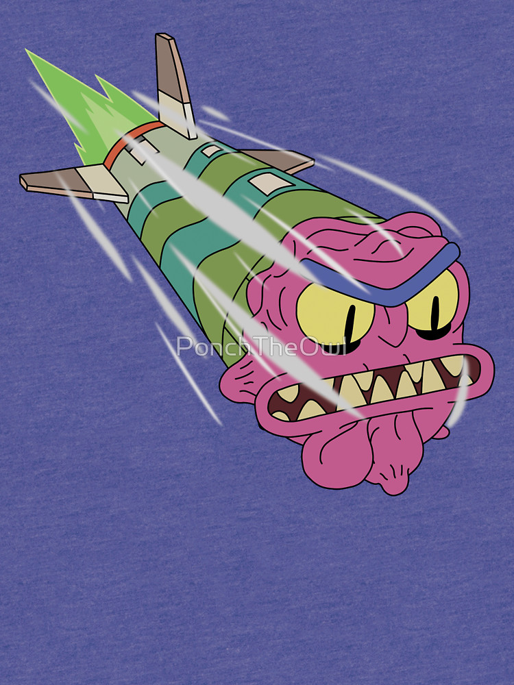 Scary Terry missile Meme Template