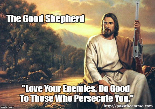 """Real Patriots Remake Jesus In Their Own Image"" 