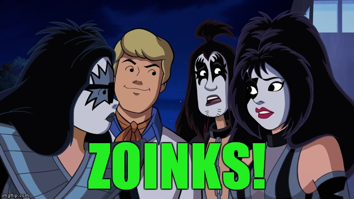 scooby doo kiss | ZOINKS! | image tagged in scooby doo kiss | made w/ Imgflip meme maker