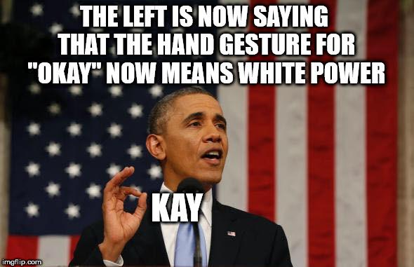 1o66q7 image tagged in white power obama imgflip,White Obama Meme