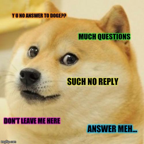 Yu no answer