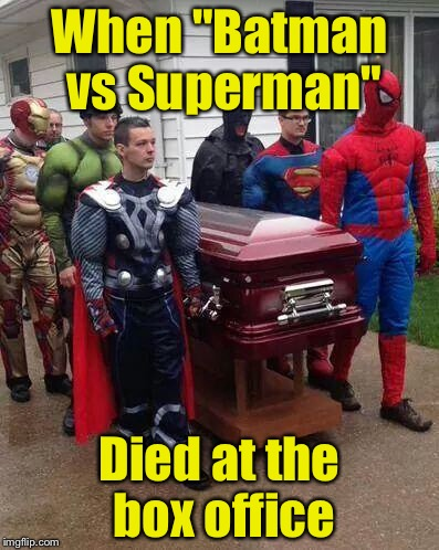"Super Funeral | When ""Batman vs Superman"" Died at the box office 