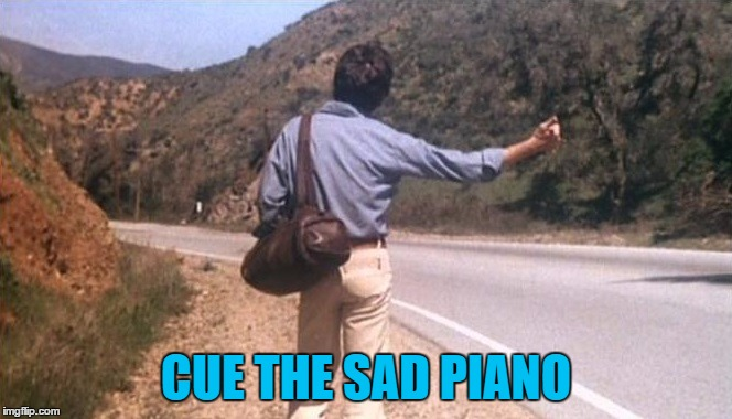 CUE THE SAD PIANO | made w/ Imgflip meme maker