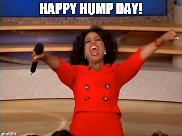 Oprah You Get A Meme | HAPPY HUMP DAY! | image tagged in memes,oprah you get a | made w/ Imgflip meme maker