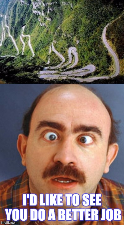 "GEORGE ""WHICH WAY DID HE GO"" KRASCO:              HIGHWAY ENGINEER 