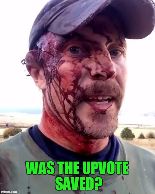 WAS THE UPVOTE SAVED? | made w/ Imgflip meme maker