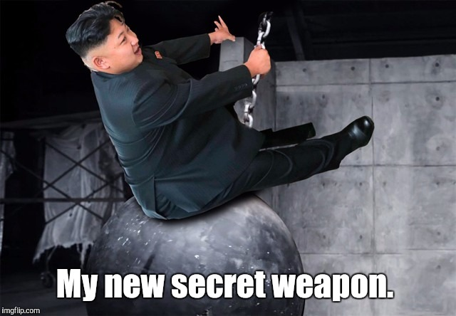 My new secret weapon. | made w/ Imgflip meme maker