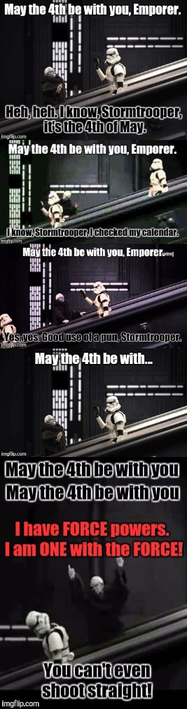 Robot Chicken. May the 4th be with you  | image tagged in star wars,may the 4th | made w/ Imgflip meme maker