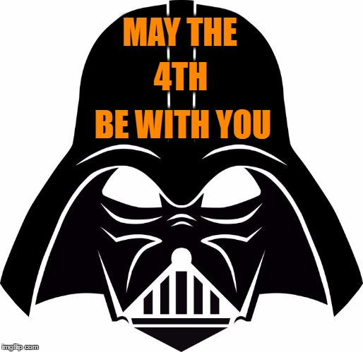May The 4th Be With You Clip Art