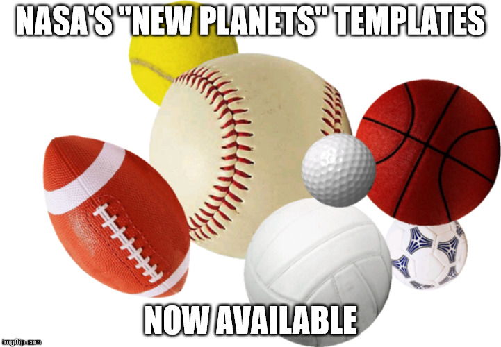 "New Planet Discovered | NASA'S ""NEW PLANETS"" TEMPLATES NOW AVAILABLE 
