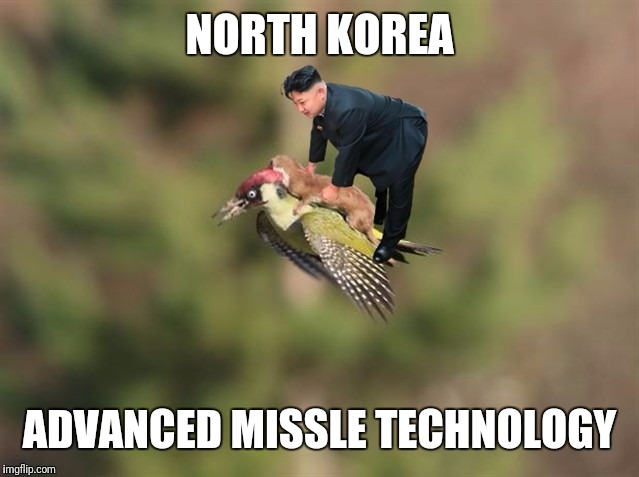 North Korea missle technology | NORTH KOREA ADVANCED MISSLE TECHNOLOGY | image tagged in north korea | made w/ Imgflip meme maker