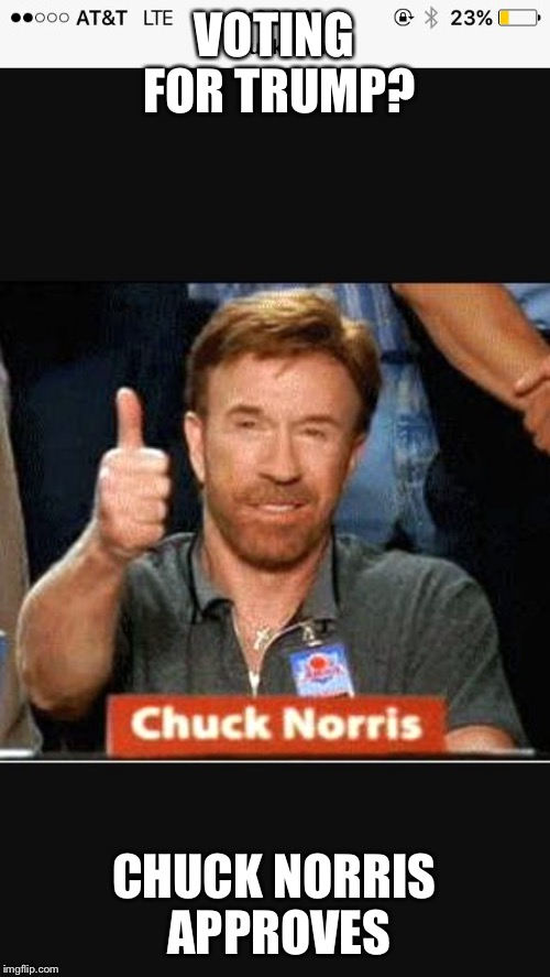 chuck norris approves meme - photo #11