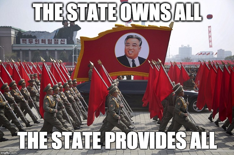 "The Means of Production in the hands of the ""People"" 
