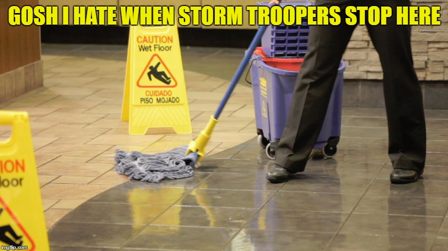GOSH I HATE WHEN STORM TROOPERS STOP HERE | made w/ Imgflip meme maker